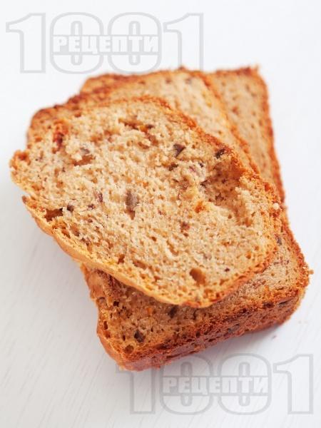 Средиземноморски хляб за хлебопекарна - снимка на рецептата
